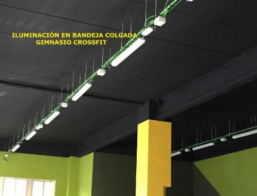 Renovación de la Instalación Eléctrica e Iluminación en un Gimnasio, Madrid