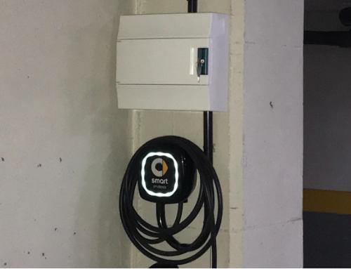 2019 Nuevas instalaciones de punto de carga para vehículo eléctrico realizadas