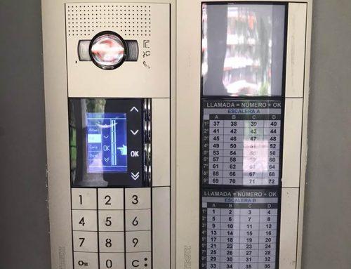 Instalación Videoportero Digital Marca Tegui